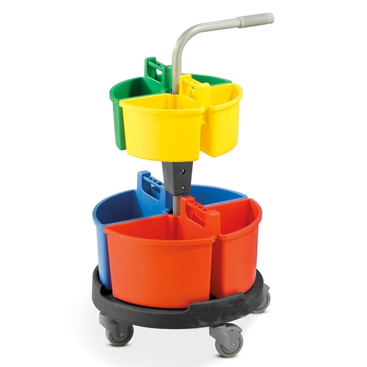 Picture of Carousel Caddy Janitorial Trolley
