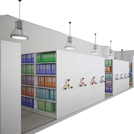 Picture for category Mobile Shelving
