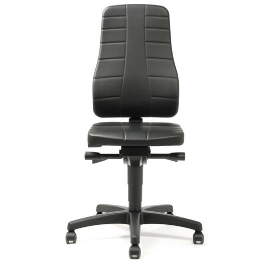 Picture of Industrial Large Back Faux Leather Chairs