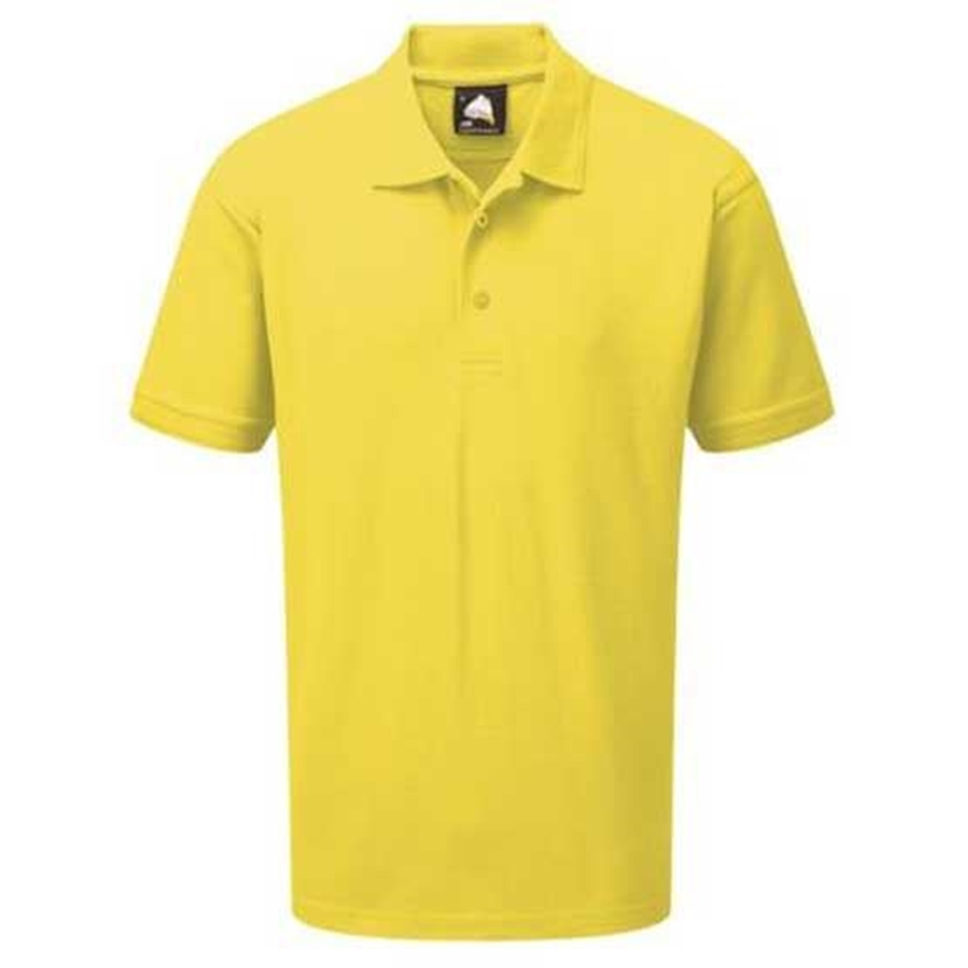 Picture of Mens Yellow Polo Shirt