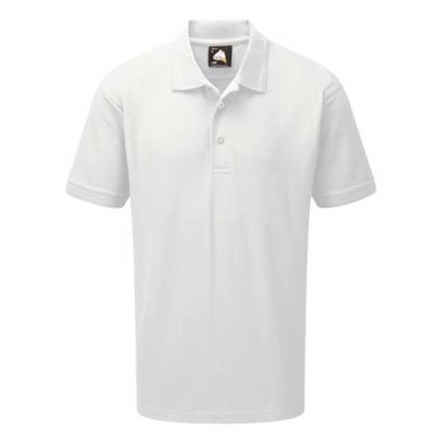 Picture of Mens White Polo Shirt