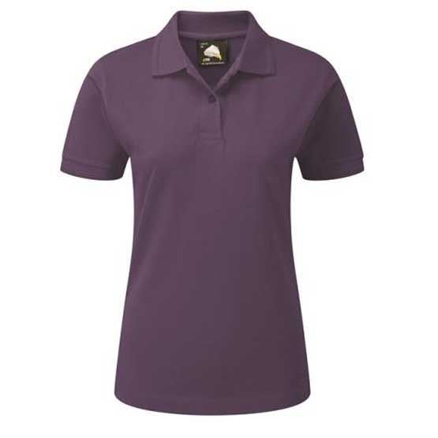 Picture of Womens Purple Polo Shirt