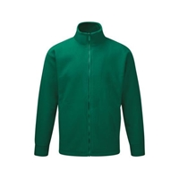 Picture of Mens Bottle Green Fleece Jacket