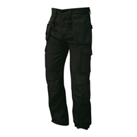 Picture of Black Tradesman Trousers