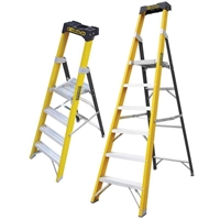 Picture of Climb-It Glass Fibre Platform Stepladders