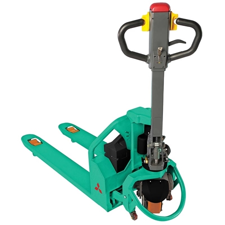 Picture for category Mitsubishi Semi-Electric Hand Pallet Truck