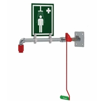 Picture of Indoor Wall, Over-door or Ceiling Mounted Emergency  Safety Shower